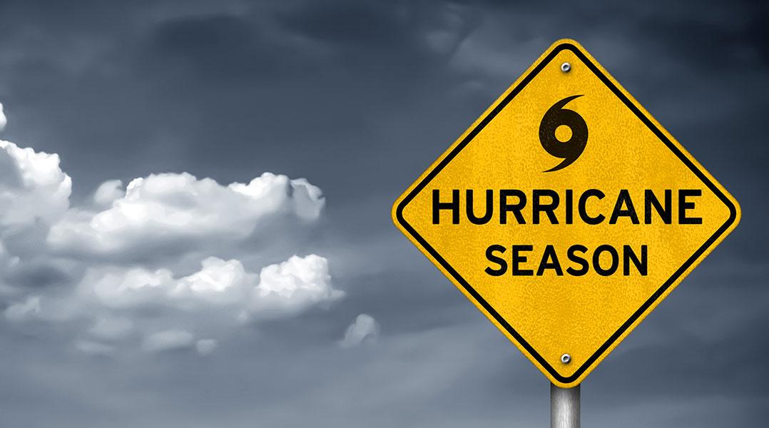 Hurricane Season is June 1 - November 30