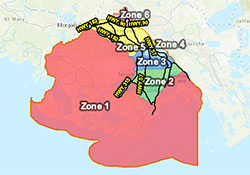 View the Terrebonne Phased Evacuation Map