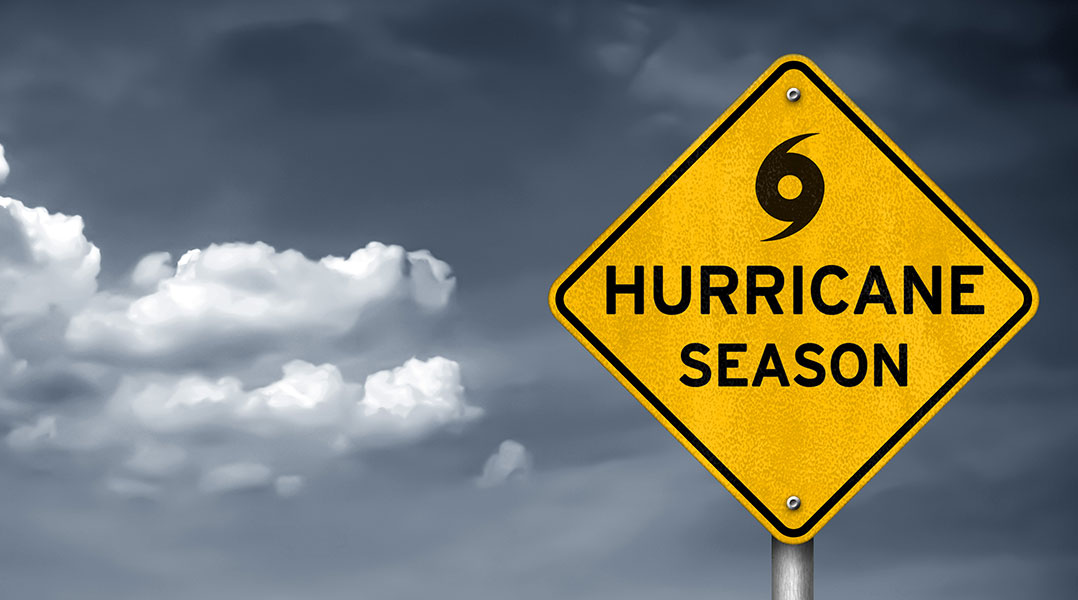 Hurricane Season is June 1 - November 30